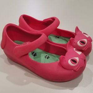 Mini Melissa Toddler Girls 7 Fuschia Cat Jellies
